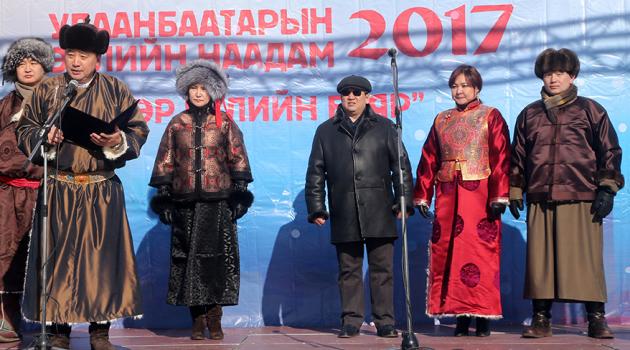 Улаанбаатарын өвлийн наадам 2017