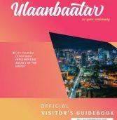 Ulaanbaatar official visitor's guidebook 2019